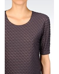 Armani | Purple Jersey T-shirt | Lyst