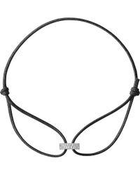 Georg Jensen - Magic 18ct White Gold Diamond Bracelet - Lyst