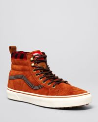 e7d0e8a029 Lyst - Vans Sk8-Hi Mountain Edition Sneakers in Red for Men