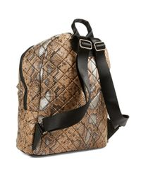 Steve Madden | Natural Diamond Quilted Backpack | Lyst
