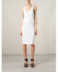 A.F.Vandevorst - White '151 Flat' Sleeveless Dress - Lyst