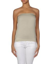 Cruciani - Natural Tube Top - Lyst
