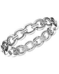 Nine West | Metallic Small Link Stretch Bracelet | Lyst