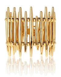 Rachel Zoe | Metallic Wide Quills Bracelet | Lyst