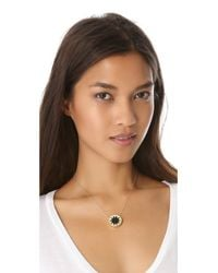 House of Harlow 1960 - Black Mini Sunburst Necklace - Lyst