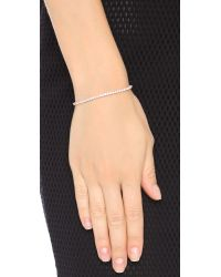 Shashi | Pink Tennis Slide Bracelet | Lyst
