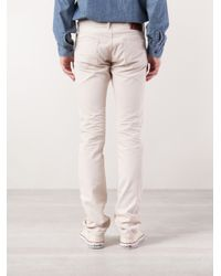 RRL - Natural Corduroy Trousers for Men - Lyst