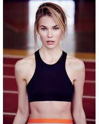Free People | Black Olympia Activewear Womens Delphine Bra | Lyst