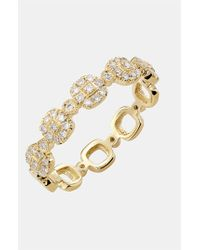 Bony Levy - Metallic Stackable Square Diamond Ring (nordstrom Exclusive) - Lyst