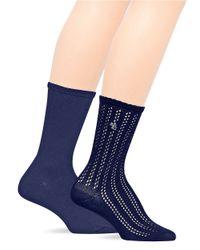Ralph Lauren - Blue 2-Pack Trouser Socks - Lyst