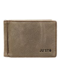 Ju'sto - Natural Wallet Leather - Lyst