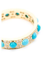 Irene Neuwirth - Blue Turquoise And Diamond Ring - Lyst