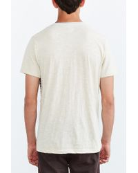 Vans - Natural Dunbar Stipe Pocket Tee for Men - Lyst