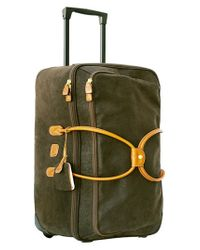 Bric's | Green 'life' Rolling Duffel Bag for Men | Lyst