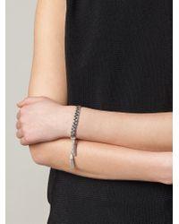 Gas Bijoux - Metallic 'Tresse' Bracelet - Lyst