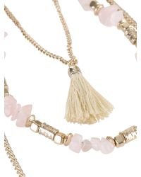 Ziba | Metallic Noemi Necklace | Lyst