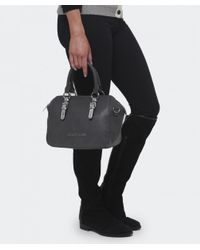 Armani Jeans - Gray Metallic Strap Doctor's Bag - Lyst
