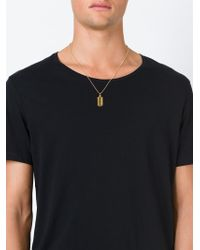True Rocks - Metallic 'razor Blade' Necklace for Men - Lyst