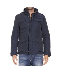 Woolrich | Blue Down Jacket for Men | Lyst