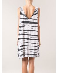 Lacausa - White Native Tshirt Dress - Lyst