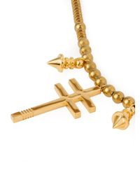 Ambush | Metallic Pendants Beaded Necklace for Men | Lyst