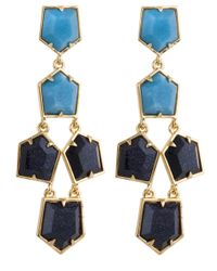 Lele Sadoughi | Blue Prism Chandelier Earrings, Starry Night | Lyst