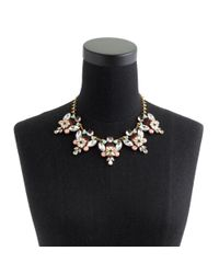 J.Crew - Multicolor Stacked Stones Necklace - Lyst