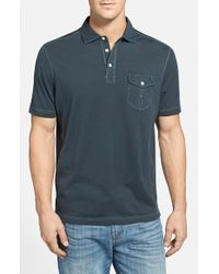 Tommy Bahama | Gray 'Vacanza' Original Fit Polo for Men | Lyst