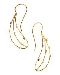 Jorge Morales - Metallic Earrings - Lyst