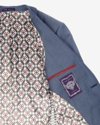Ted Baker | Blue Wool Suit Jacket for Men | Lyst