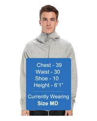Nike - Gray Sb Everett Full Zip Hoodie for Men - Lyst