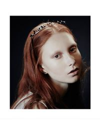 Colette Malouf | Gray Metal Scribble Maneframe Headband | Lyst