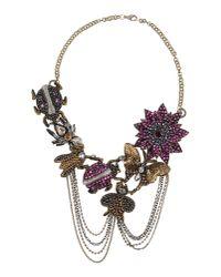 Deepa Gurnani - Brown Necklace - Lyst