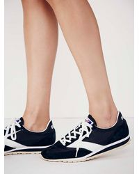 Free People | Black Van Gaurd Sneaker | Lyst