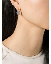 Wouters & Hendrix | Gray Grey Agate Earrings | Lyst
