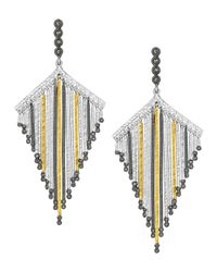 Coomi | Multicolor Spring Tricolor Statement Earrings With Diamonds | Lyst