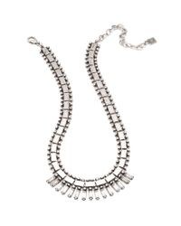 DANNIJO | Metallic Caius Necklace | Lyst
