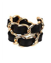 CC SKYE - Metallic Double Wrap Bracelet - Lyst