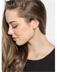 BaubleBar - Metallic Pearl Fang Ear Jackets - Lyst