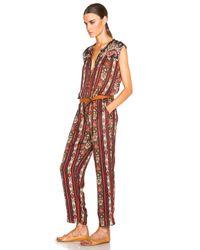 Étoile Isabel Marant - Multicolor Tayler Paisley-print Jumpsuit - Lyst
