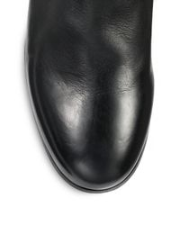 Marsèll - Black Leather Buckle Ankle Boots - Lyst