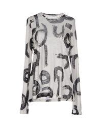 Proenza Schouler | White T-shirt | Lyst