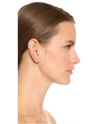Elizabeth and James | Metallic Aalto Ear Cuff | Lyst