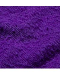 Acne Studios - Purple Peele Pilled Wool and Cashmereblend Sweater for Men - Lyst
