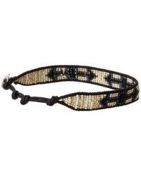Chan Luu - Black 7 Seed Bead Arrow Bracelet for Men - Lyst