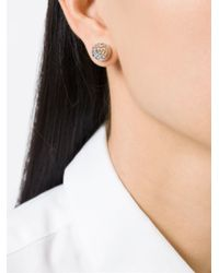 Givenchy   Metallic Double Cone Earrings   Lyst