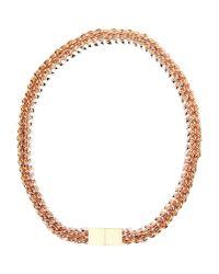 Bex Rox - Metallic Necklace - Lyst