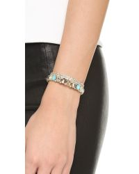 Alexis Bittar - Multicolor Azores Cystal Lace Cuff Bracelet - Lyst