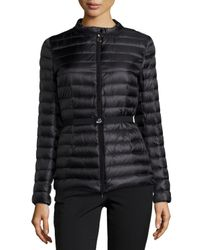 Moncler - Black Damas Quilted Quilted Jacket - Lyst