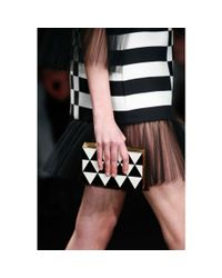 Valentino - Black Box Clutch - Lyst